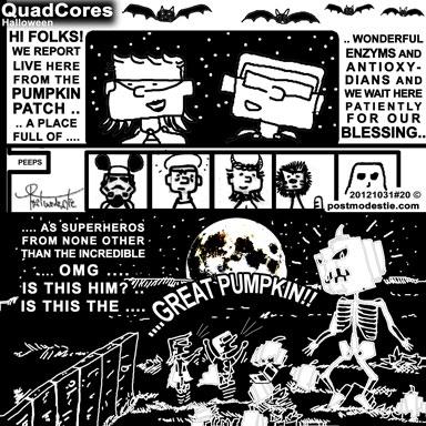 QuadCores #20 Halloween