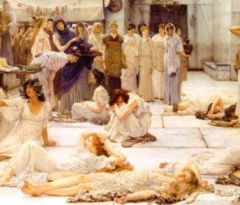 Sir Lawrence Alma-Tadema - Women of Amphissa