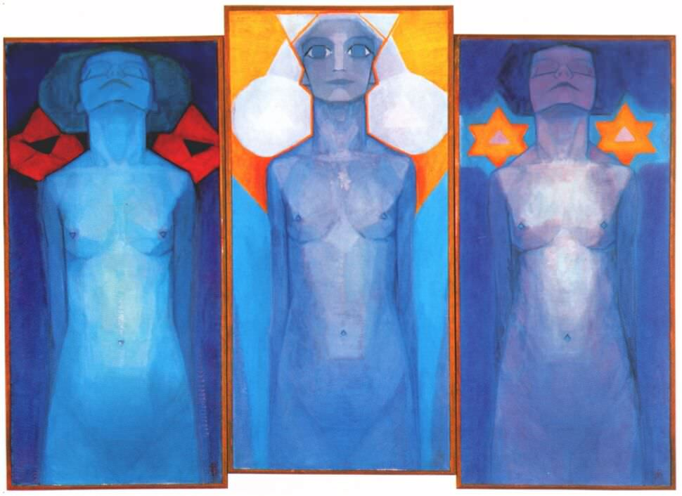 Evolution 1911 Piet Mondrian