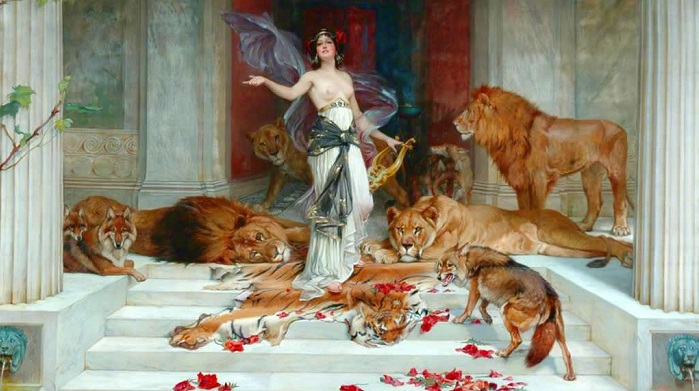 Circe - Wright Barker, 1889